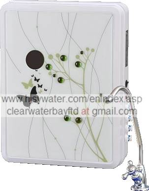 Wall-mounted LED UF water purifier (UF-7B)