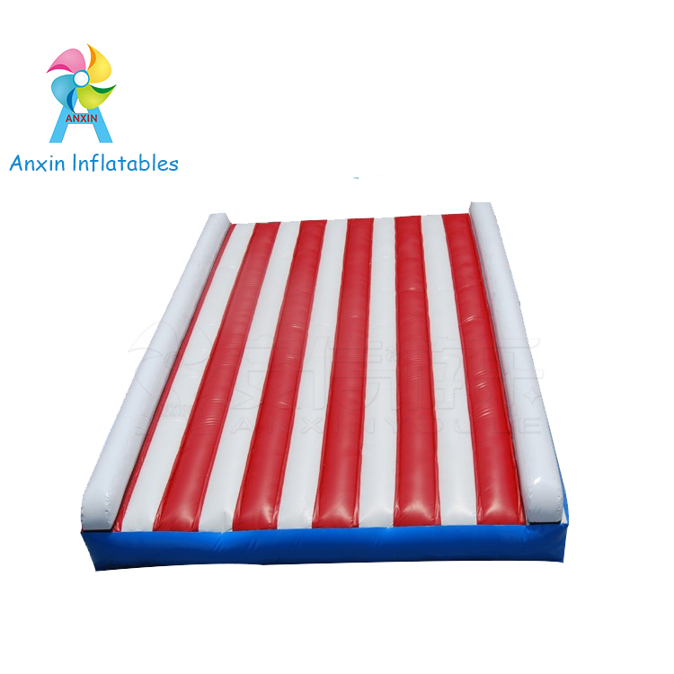 inflatable protective pvc tarpaulin jump jumping pad used for somersault, inflatable jumping bouncer