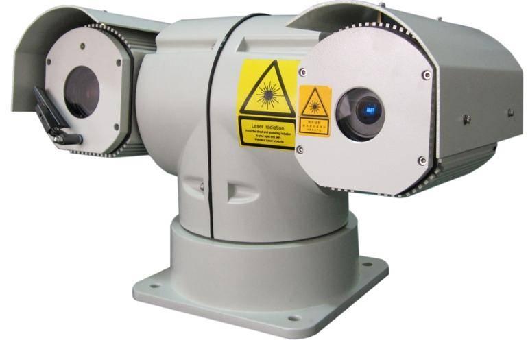 NIR laser imaging camera
