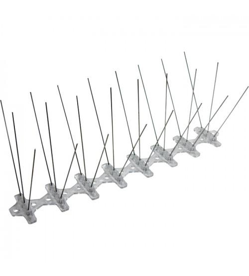 Bird B Gone Bird Spikes Stainless Steel 50ft.L x 8in.W Model NT2001.8.50