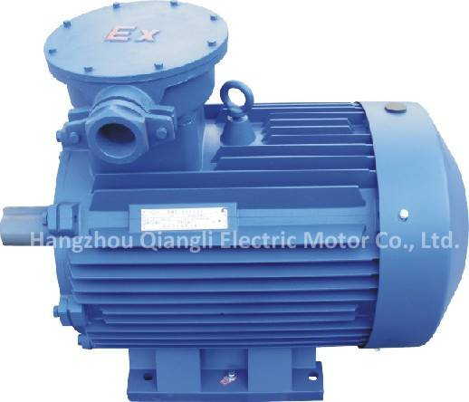 YB3 Series Three-phase Flame-proof Motor IP55 F AC