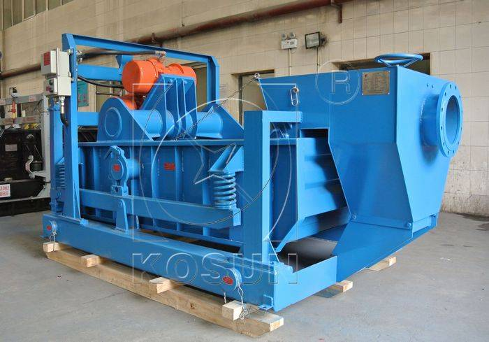 Drilling fluids recycling shale shaker by KOSUN