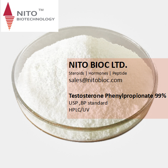 Nito Hot Sell Strong Steroid Testosterone Phenylpropionate for Bodybuilding, factory control quality