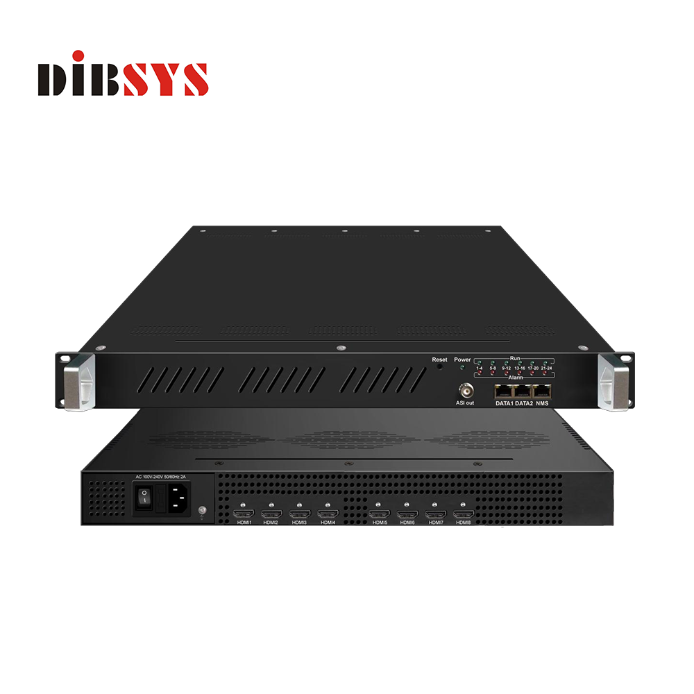 8 In 1 MPEG4 H.264 HD Encoder HDMI IP Encoder-ENC3281