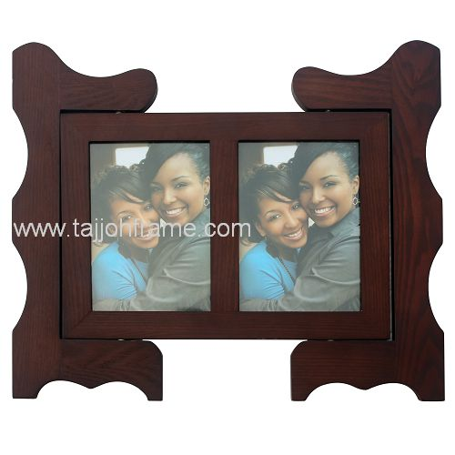 High Quality Wooden Rotatable Photo Frame