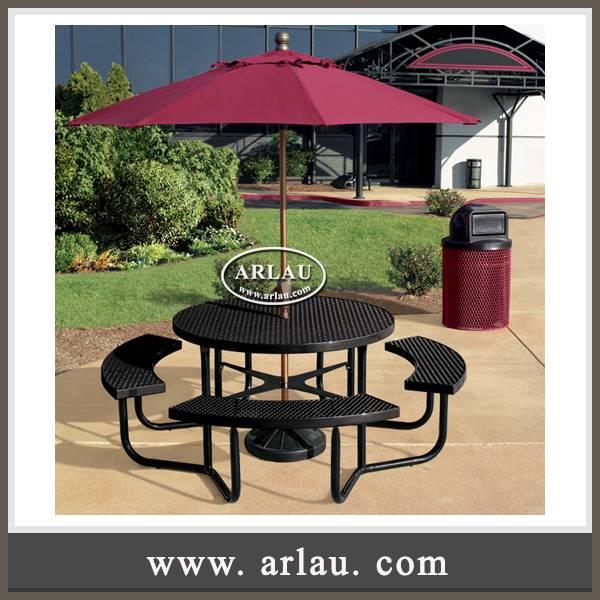 Arlau Wrought Iron Park Furniture Outdoor,Outdoor Coffee Table Set,Wrought Iron Outdoor Table And Ch