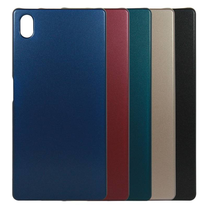 New Design Metallic Paint Coated Cover Case Wholesale for Sony Xperia Z5 Case