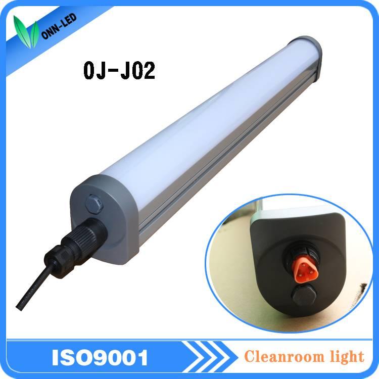 J02 ip65 90-240v waterproof led tri-proof light 55w