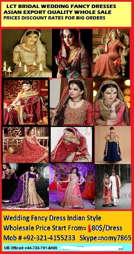 Bridal Wedding Dressers Export Quality Wholesale Stock