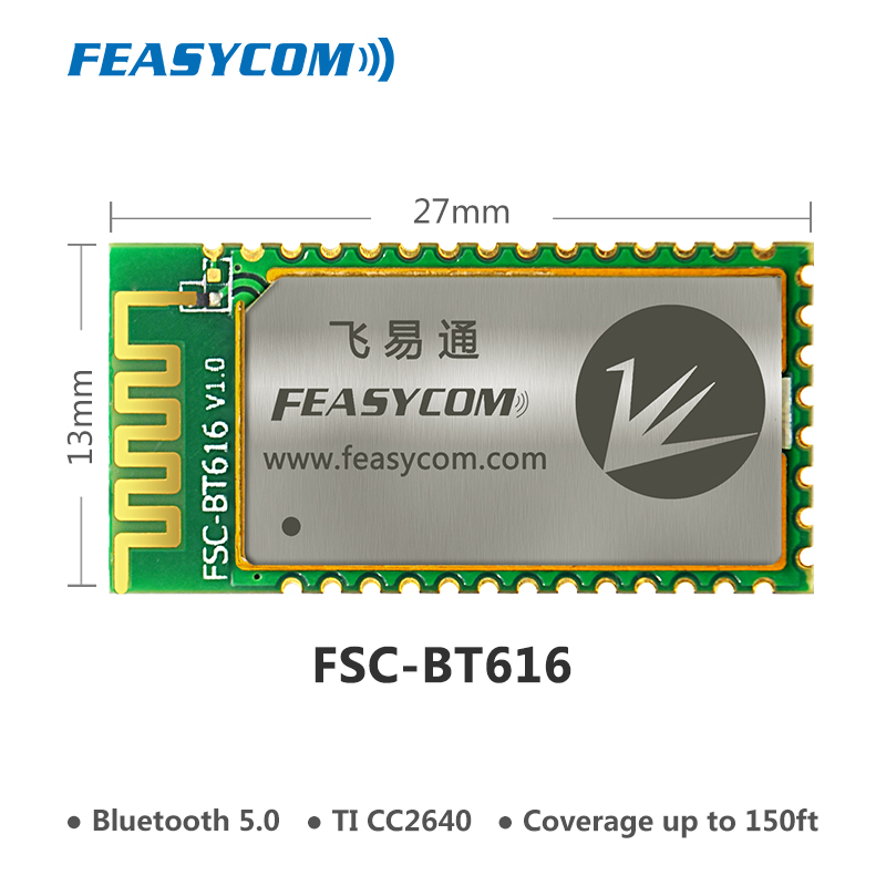 TICC2640 low energy bluetooth 5.0 module for medical device & IOT