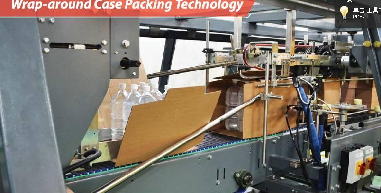 High-speed Wrap-around Case Packer