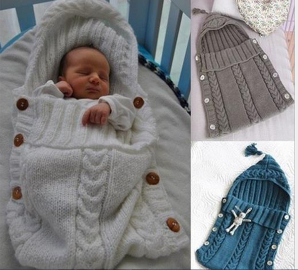 baby sleeping bag knitting