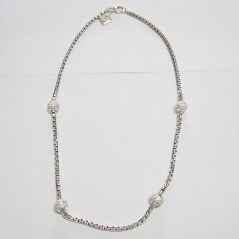 Sterling Silver Jewelry 925 Silver Box Chain in 18 inches (N-032)