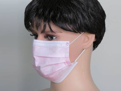 nonwoven face mask