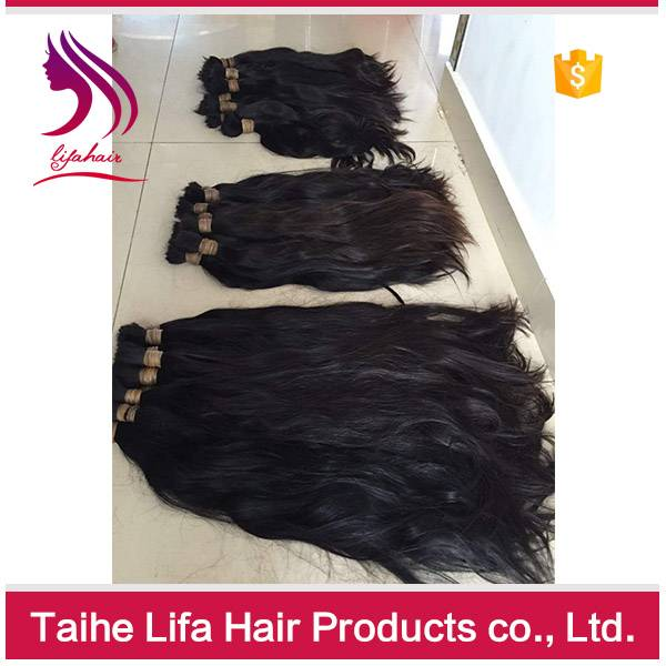 natural color 100 percent human hair virgin human hair bulk