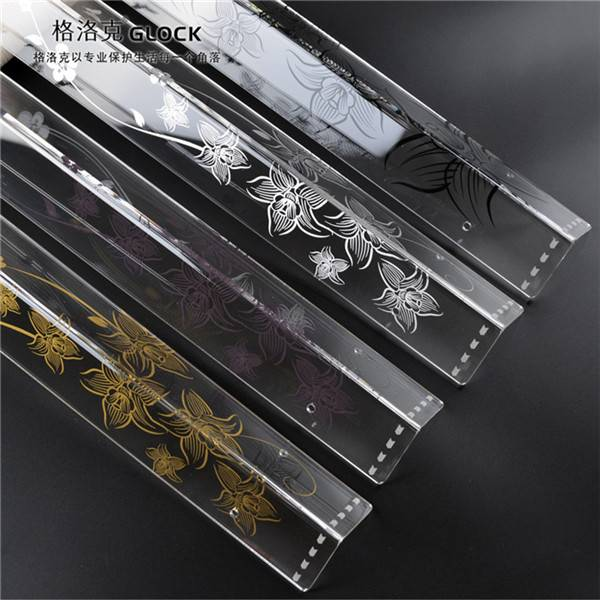 Chinese Classic Style Booming Flowers Wall Protector Corner Guards