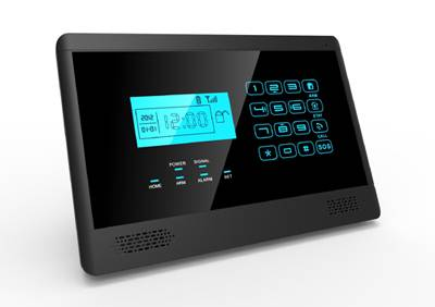 Voice prompt 868M GSM alarm with LCD display and tamper protect