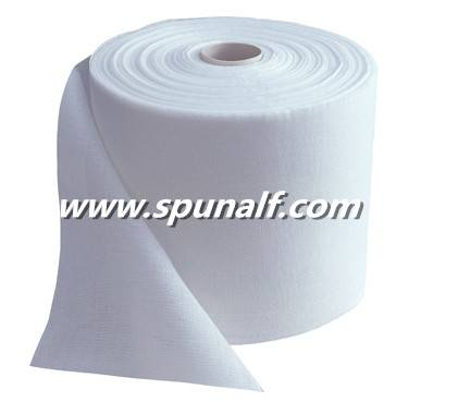 Disposablespunlacenonwovenfabricwith 30% polyester & 70% viscose for diaper raw material