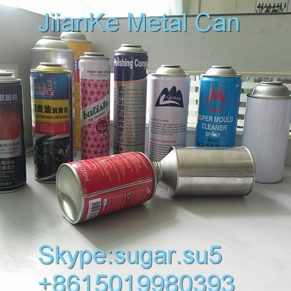Aerosol cans for furniture polish China manufacturer