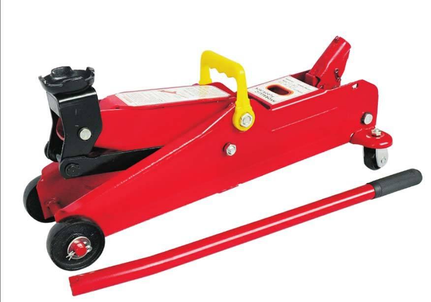 hydraulic trolley jack for vehicle repair