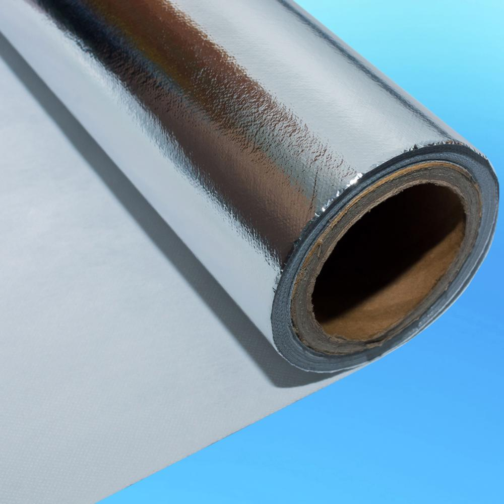 Double-Sided Aluminum Foil Reinforced With PE Non-Woven Cloth Foil Insulation