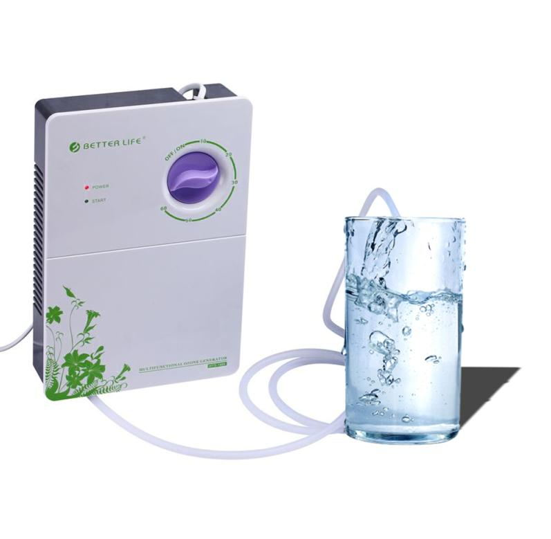 Better life portable home ozone generator and ozone food machine