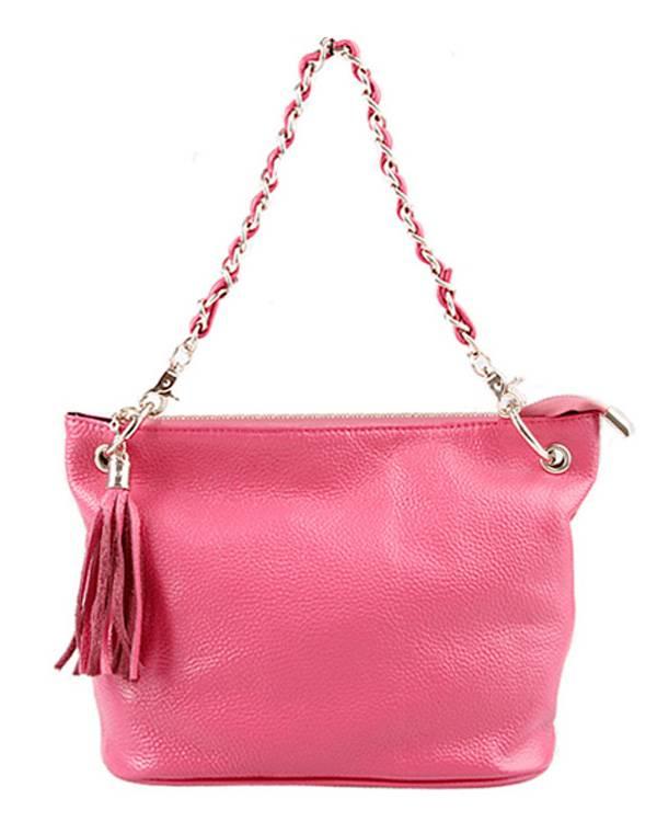 Fashion Top Grain Leather Handbag Shoulder Bag Messenger Bag