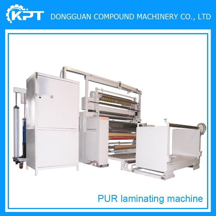 polyurethane reactive pur laminating machine
