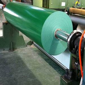 Green PVC Belt Two Ply