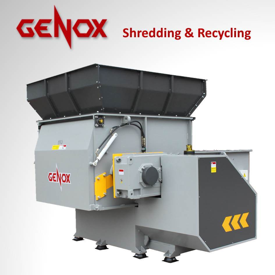 Single Shaft Shredder (BH1500) /Wood Shredder/Plastic Shredder