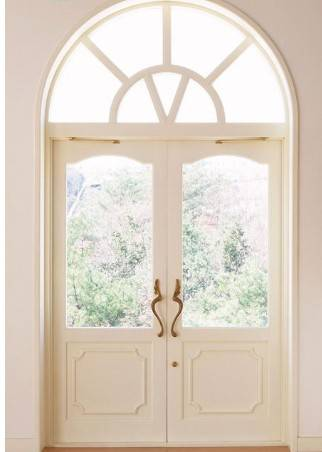 European Style Front Doors with Glass