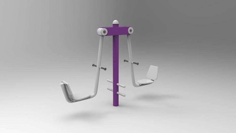 2-person leg press