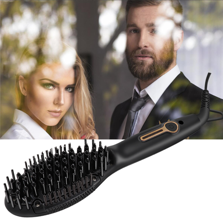 Kaylux OEM Instant Styling Ionic Hair Straightening Brush for Beard
