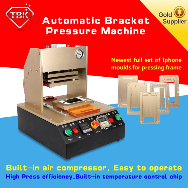 Refurbish Automatic Frame Laminator Hot Pressure Bracket Laminating Machine