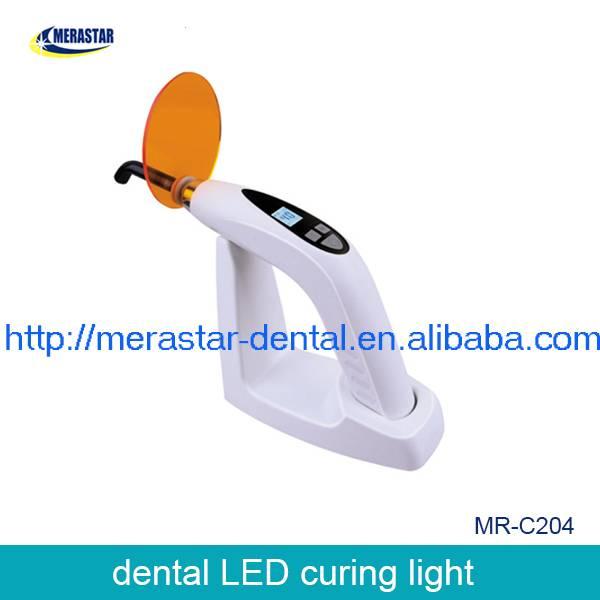 MR-C204 LED Curing light machine/dental curing light/dental LED curing light blue with white curing