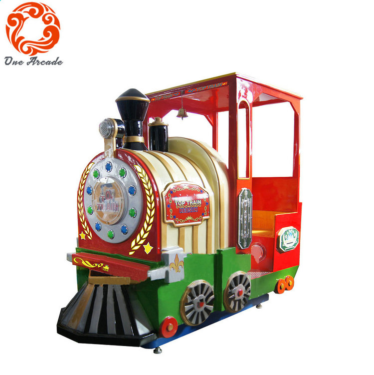 Most Popular 1 Player Indoor Amusement Equipment Top Train Kids Game Machine