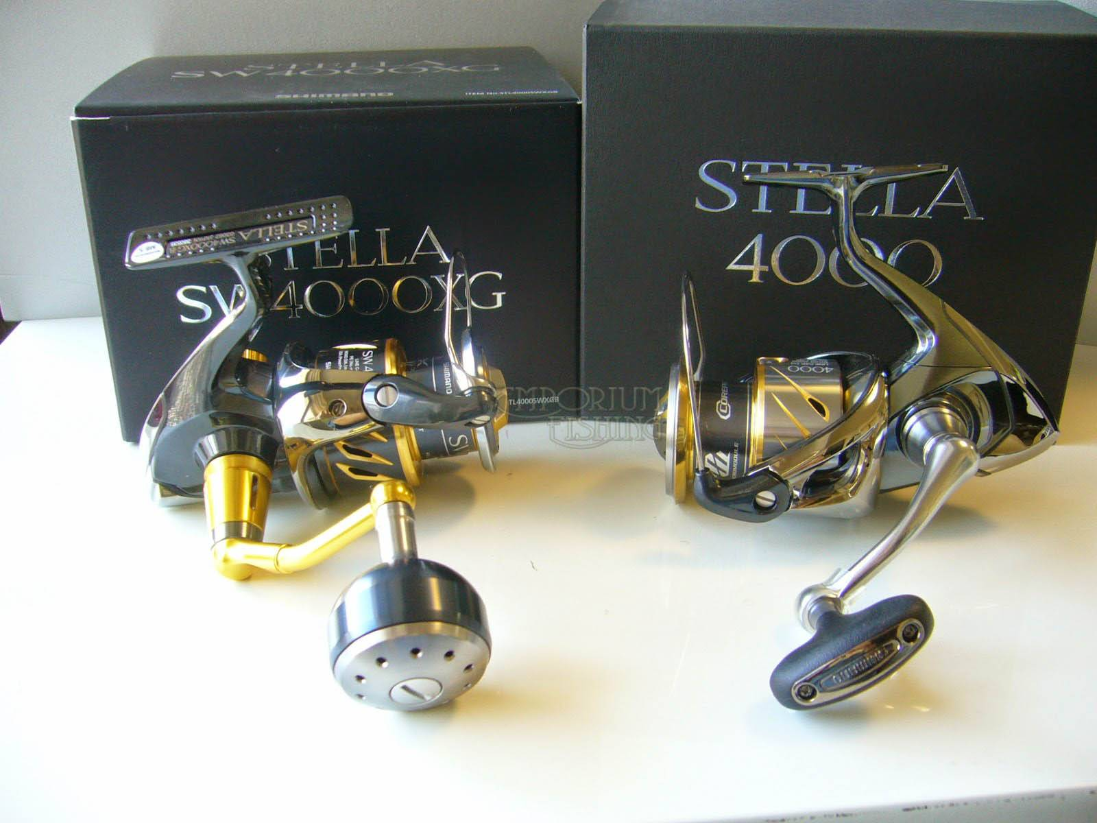 New Shimano STELLA 4000 Spinning Reel 2014