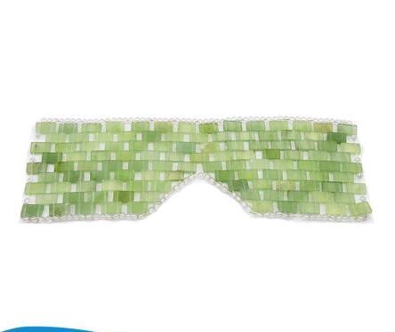 Natural Green Jade Facial Mask Jade Eye Mask For Beauty