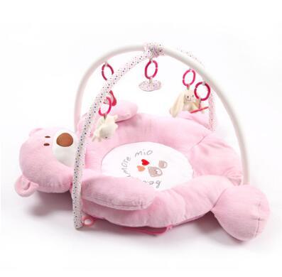 Educational play mats plush soft baby playmat