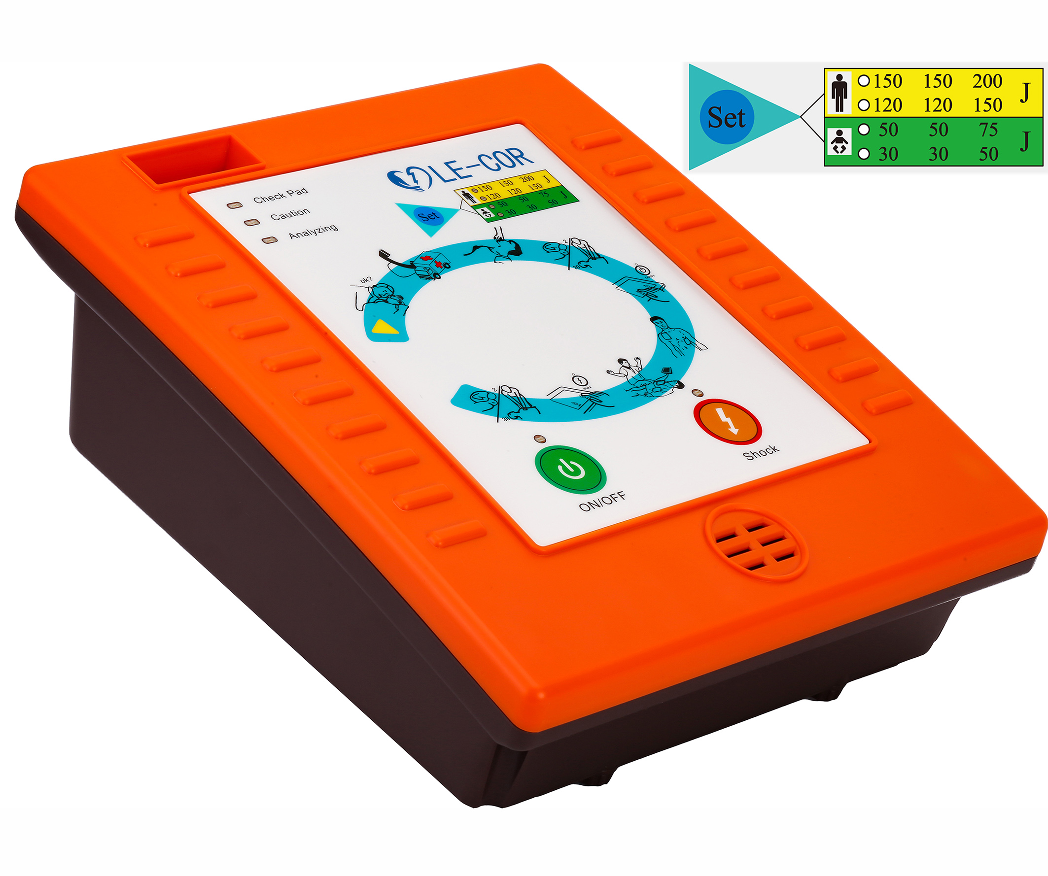 Cor-Res A6S Automated External Defibrillator