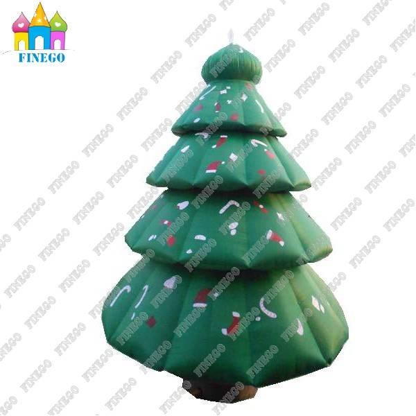 Holiday Decoration Inflatable LED Christmas Tree