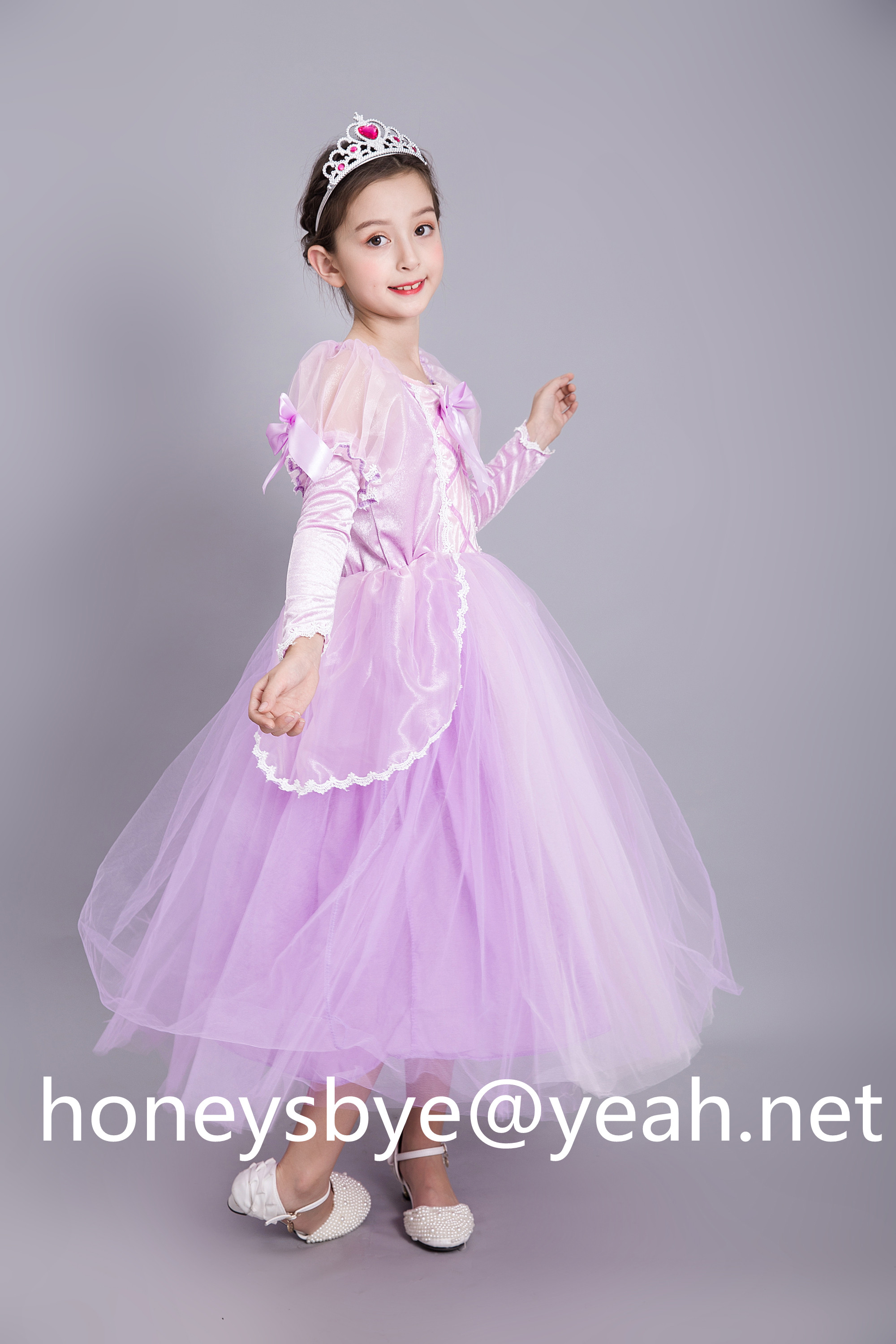 Kids Rapunzl Costume Rapunzel Dress for Children Dress Up Party