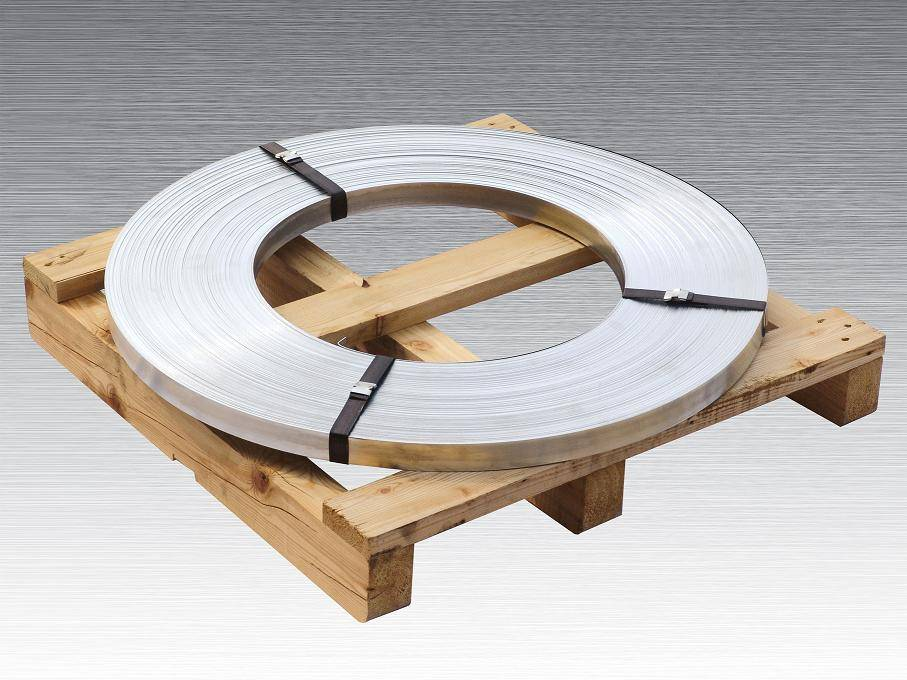 zinc coated steel strapping