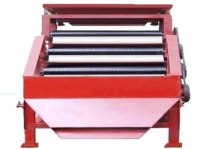 flat plate dry magnetic separator