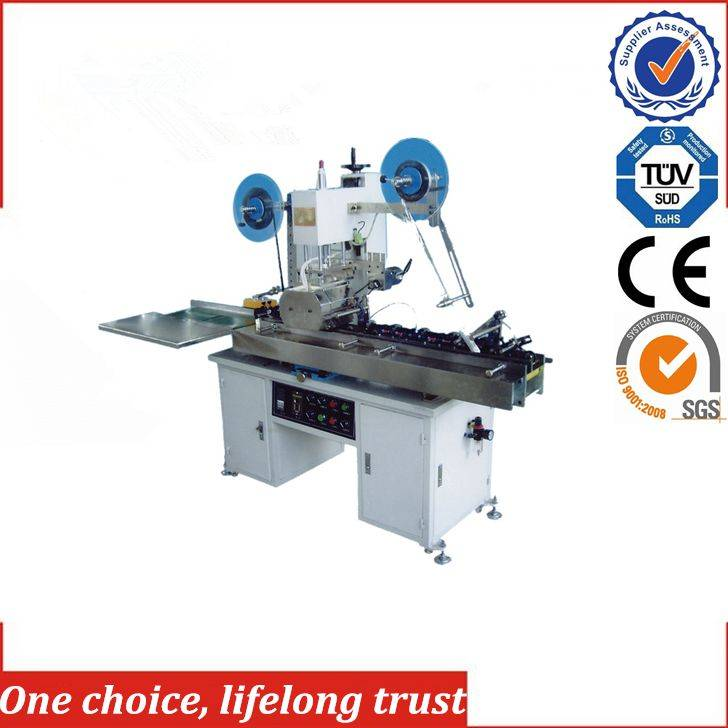 TJ-61 magnetic card strip hot foil printing press machine