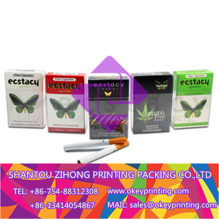 printing tobacco packaging box