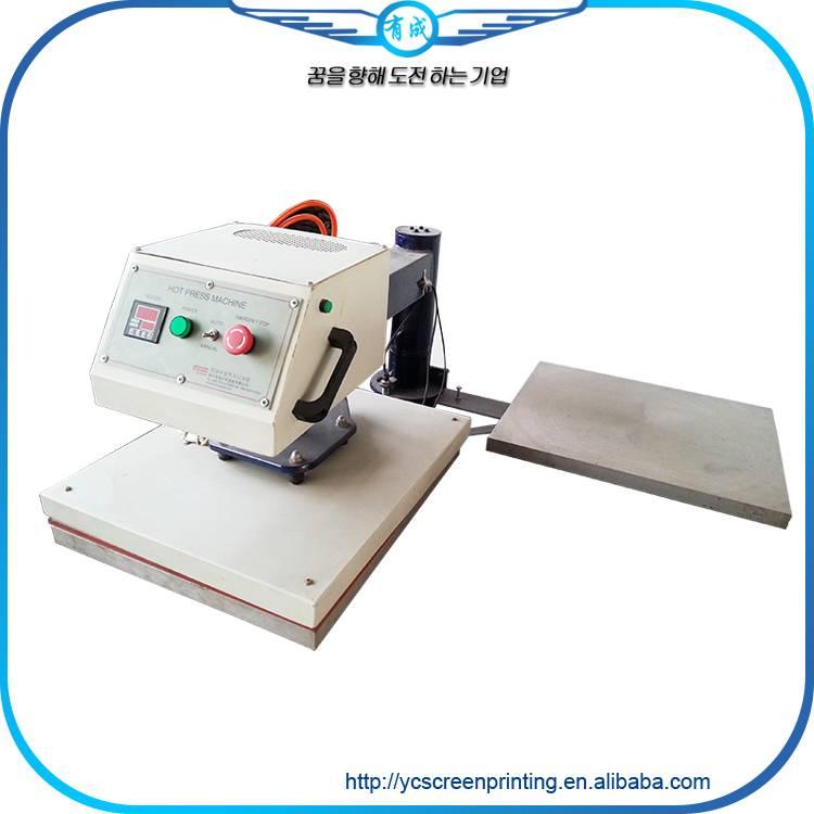 pneumatic double pressure heat press machine for sale