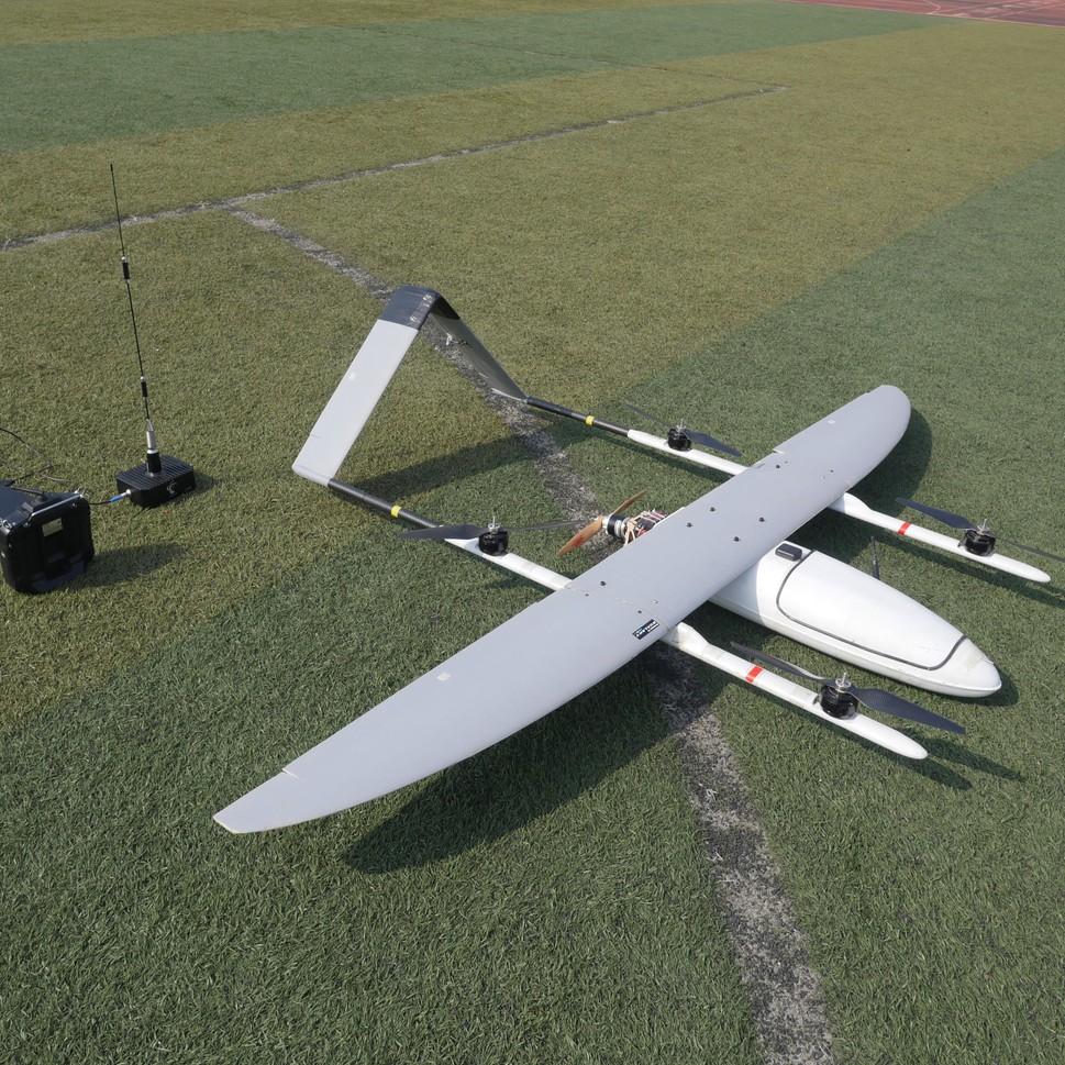 Battery Powered Long Range Survey Drone Professional VTOL