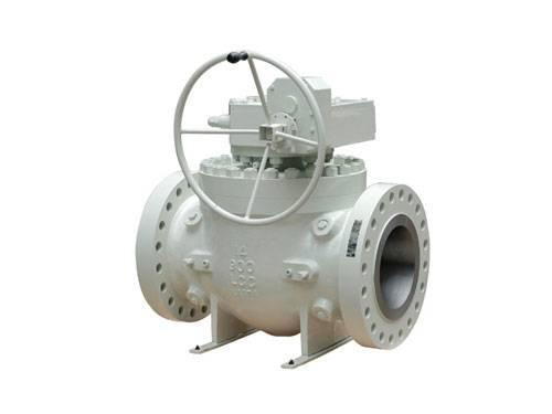 Top entrance ball valve