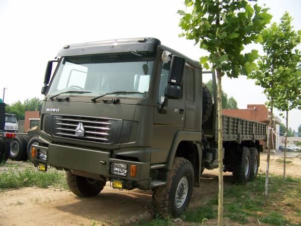 6x6 cargo truck